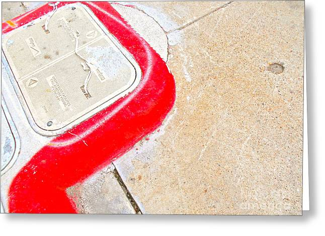 Curb Greeting Cards - Urban Ugly Beauty Series 2 Greeting Card by Chuck Taylor