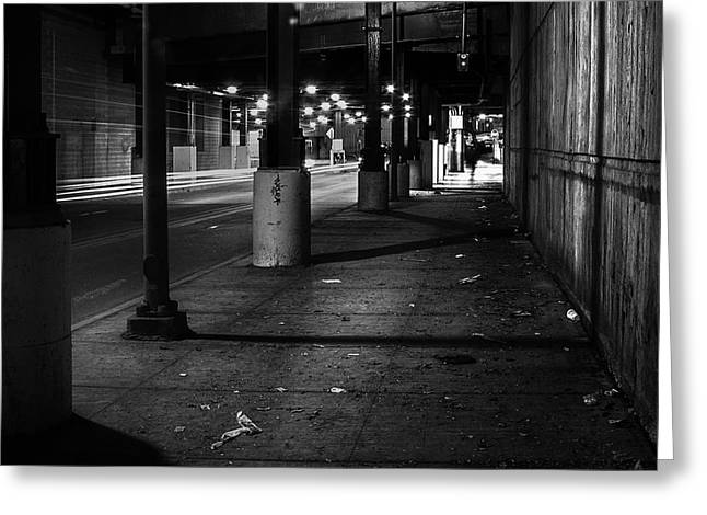 Urban Underground Greeting Card by Scott Norris