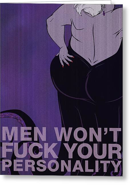 Man Greeting Cards - Ursula Greeting Card by Christopher Ables