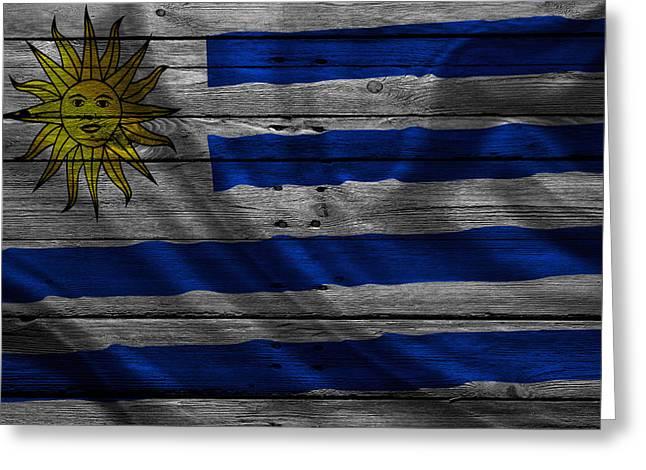 Uruguay Greeting Cards - Uruguay Greeting Card by Joe Hamilton
