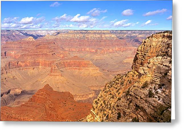 Chasms Greeting Cards - Us, Arizona, Grand Canyon, View Greeting Card by Panoramic Images