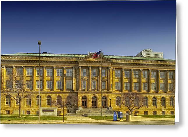 Postal Greeting Cards - U.S. Courthouse - Toledo Ohio Greeting Card by Mountain Dreams