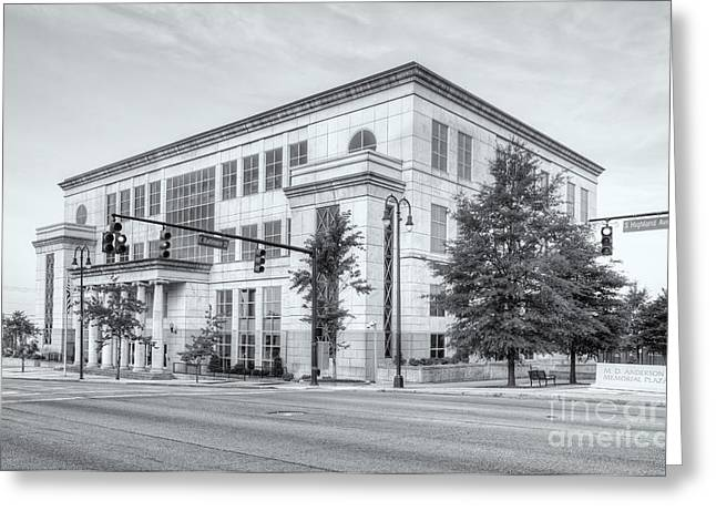 M Court Greeting Cards - US District Courthouse Western Tennessee II Greeting Card by Clarence Holmes