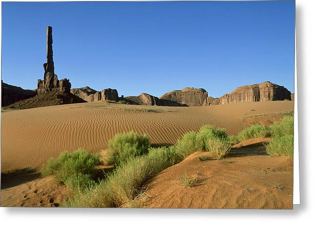 Scenary Greeting Cards - Usa, Arizona, Moument Valley Navajo Greeting Card by Tips Images