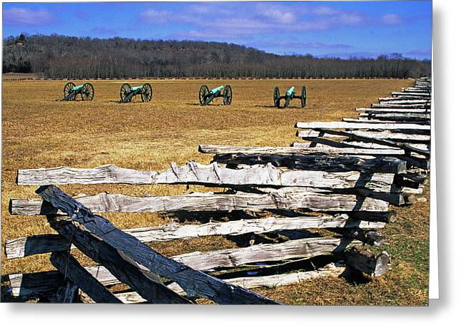 Usa, Arkansas Split-rail Fence Greeting Card by Jaynes Gallery