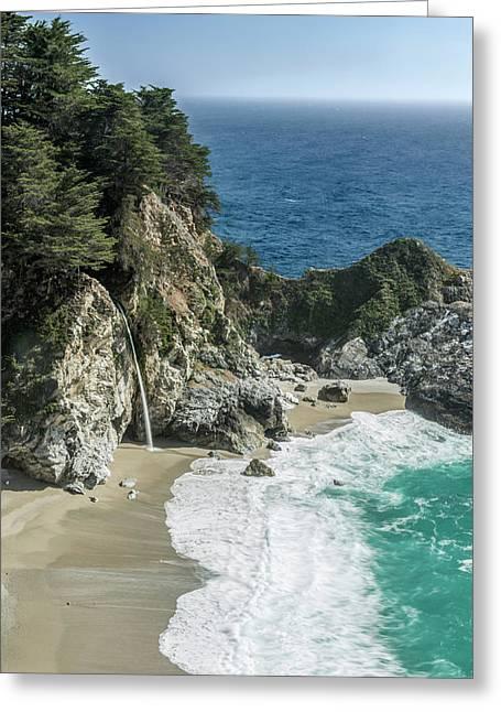 Usa, California, Julia Pfeiffer Burns Greeting Card by Rob Tilley