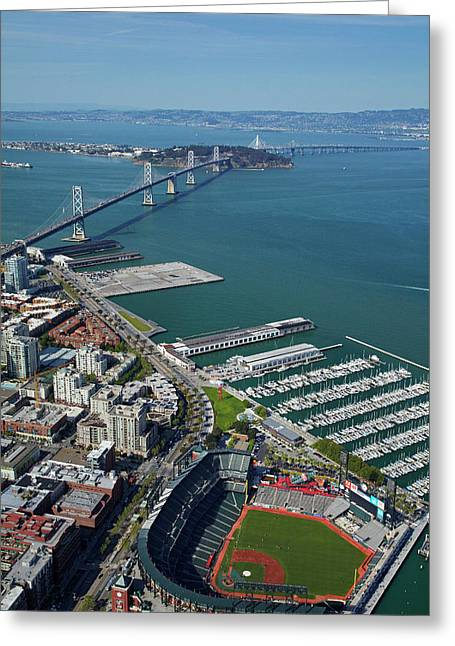 Usa, California, San Francisco Greeting Card by David Wall