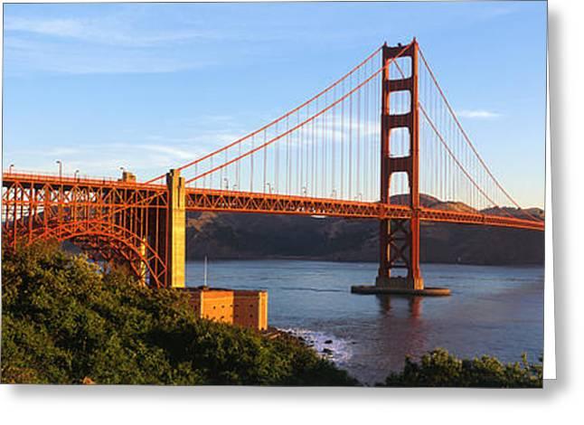 Ironwork Greeting Cards - Usa, California, San Francisco, Golden Greeting Card by Panoramic Images