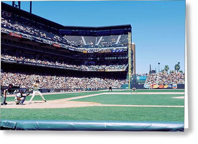 Usa, California, San Francisco, Sbc Greeting Card by Panoramic Images