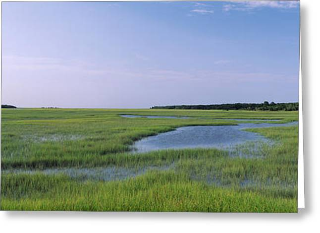 Jacksonville Greeting Cards - Usa, Florida, Jacksonville, Atlantic Greeting Card by Panoramic Images