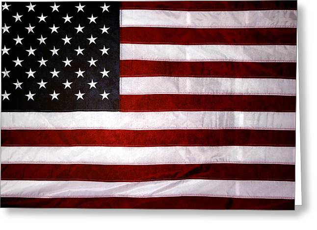 Celebrating Freedom Greeting Cards - Usa Greeting Card by Les Cunliffe