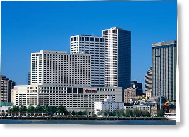 Usa, Louisiana, New Orleans Greeting Card by Panoramic Images