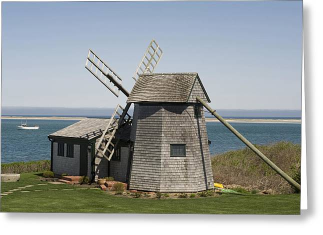 Chatham Greeting Cards - Usa, Massachusetts, Cape Cod, Chatham Greeting Card by Tips Images