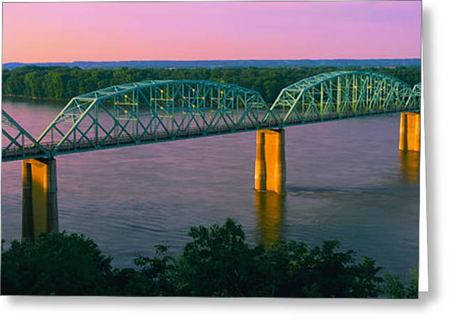 Missouri Photography Greeting Cards - Usa, Missouri, High Angle View Greeting Card by Panoramic Images
