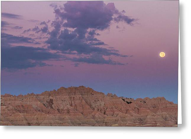 Usa, South Dakota, Badlands National Greeting Card by Jaynes Gallery