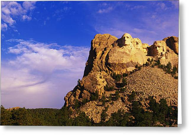 Mount Rushmore Greeting Cards - Usa, South Dakota, Mount Rushmore Greeting Card by Panoramic Images