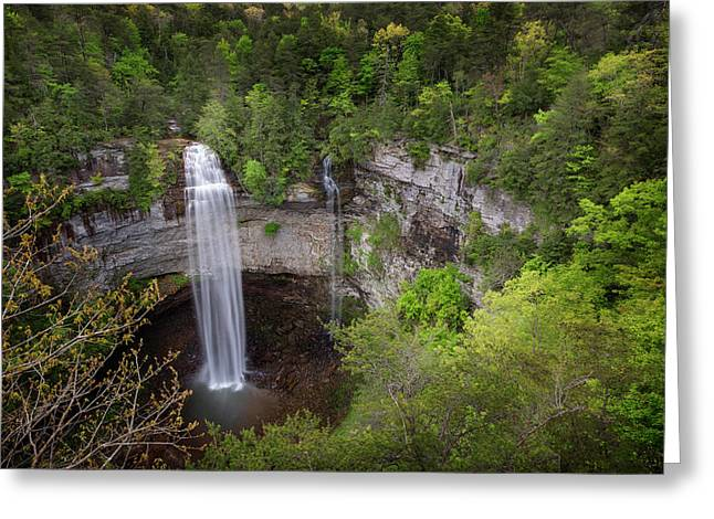 Usa, Tennessee Fall Creek Falls Greeting Card by Jaynes Gallery