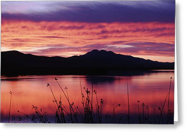Usa, Utah, Cache Valley, Great Basin Greeting Card by Scott T. Smith