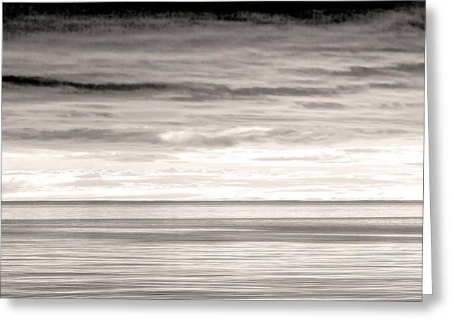 Usa, Washington Sunrise On Strait Greeting Card by Jaynes Gallery