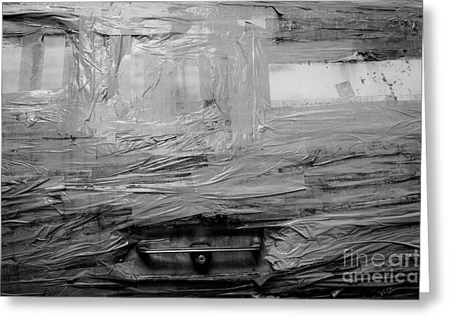Backdoor Greeting Cards - Used Car Abstract I Greeting Card by Dean Harte