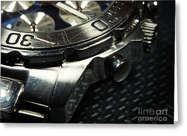 Straps Greeting Cards - Used watch Greeting Card by Sinisa Botas