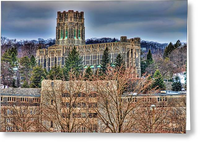 Usma Cadet Chapel Greeting Card by Dan McManus