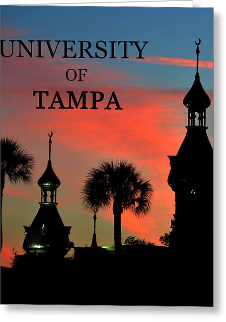 Sunset Posters Greeting Cards - UT work C Greeting Card by David Lee Thompson