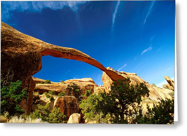Utah Arches National Park  Greeting Card by Anonymous