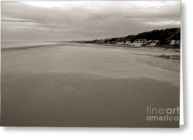 Historic Battle Site Greeting Cards - Utah Beach Greeting Card by Olivier Le Queinec