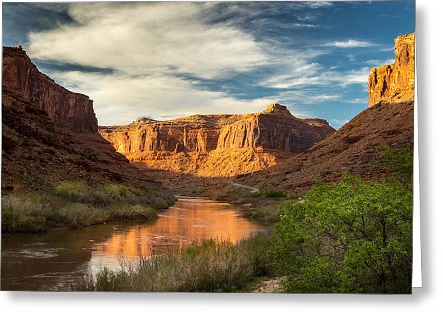 Ranch Greeting Cards - Utah Highway 128 Greeting Card by Michael J Bauer