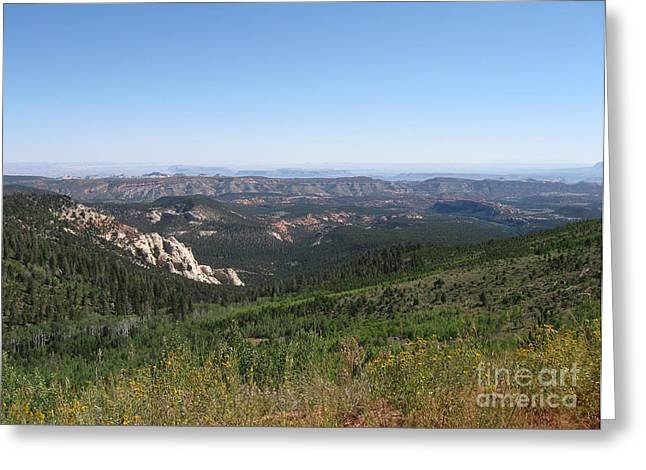 Photograph Greeting Cards - Utah Landscape Greeting Card by Cheryl Aguiar