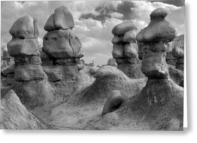 Goblins Greeting Cards - Utah Outback 23 Greeting Card by Mike McGlothlen