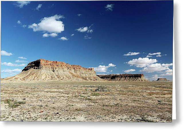 Ute Mountain Reservation Greeting Card by Michael Szoenyi