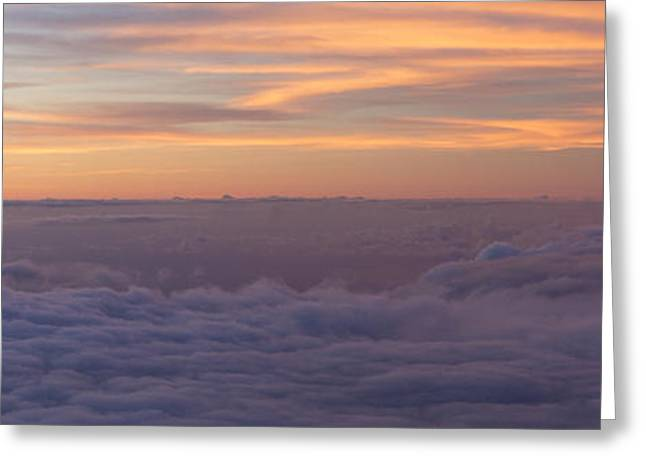 Amazing Sunset Greeting Cards - Utopia Greeting Card by Brad Scott