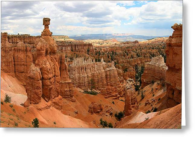 Thor Greeting Cards - Thors Hammer - Bryce Canyon National Park Greeting Card by Nomad Art And  Design
