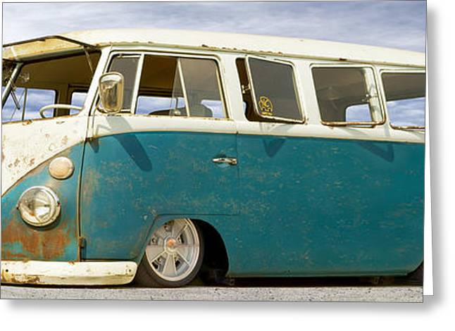 V W Lowrider At Gallop Greeting Card by Mike McGlothlen