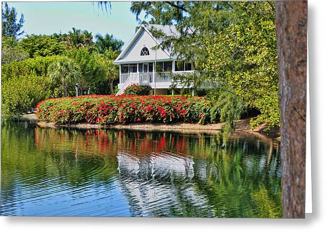 Captiva Greeting Cards - Vacation Home Greeting Card by Sandy Poore