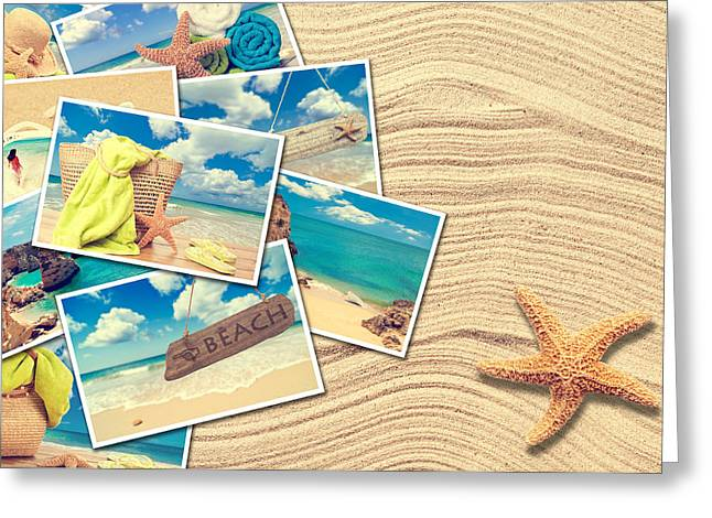 Algarve Greeting Cards - Vacation Postcards Greeting Card by Amanda And Christopher Elwell