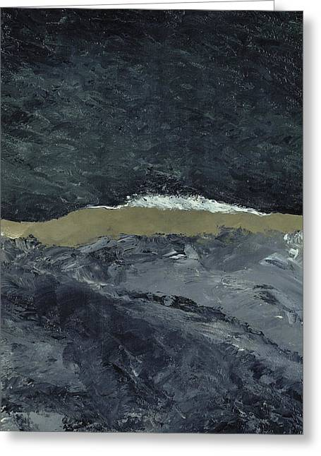 Vague Greeting Cards - Vague VII Greeting Card by August Johan Strindberg