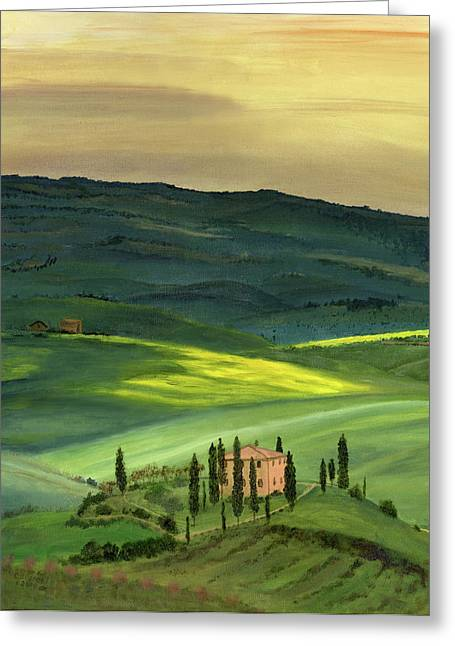 Cecilia Greeting Cards - Val d II Greeting Card by Cecilia  Brendel