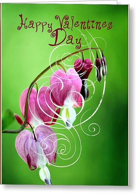 Stamen Digital Greeting Cards - Valentine Greeting Card  Greeting Card by Geraldine Scull