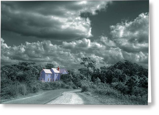 Florida House Greeting Cards - Valentine House Robinson Preserve Greeting Card by Mal Bray