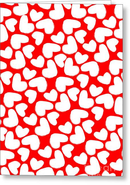 Valentines Day Card Greeting Card by Louisa Knight