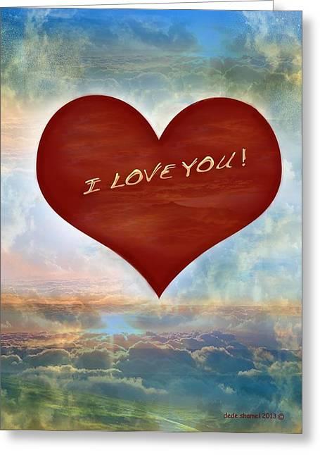 Best Seller Greeting Cards - Valentines Day Greeting Card by Dede Shamel Davalos