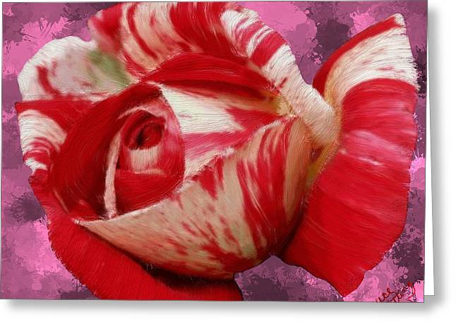 Valentine's Day Rose Greeting Card by Bruce Nutting
