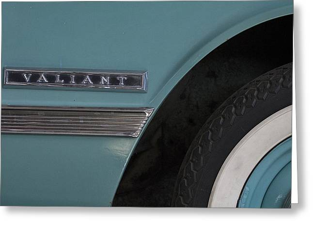 Valiant Greeting Cards - Valiant Blue Greeting Card by Douglas Barnard
