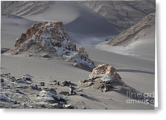 Luna Greeting Cards - Valle de la Luna Chile 3 Greeting Card by Bob Christopher