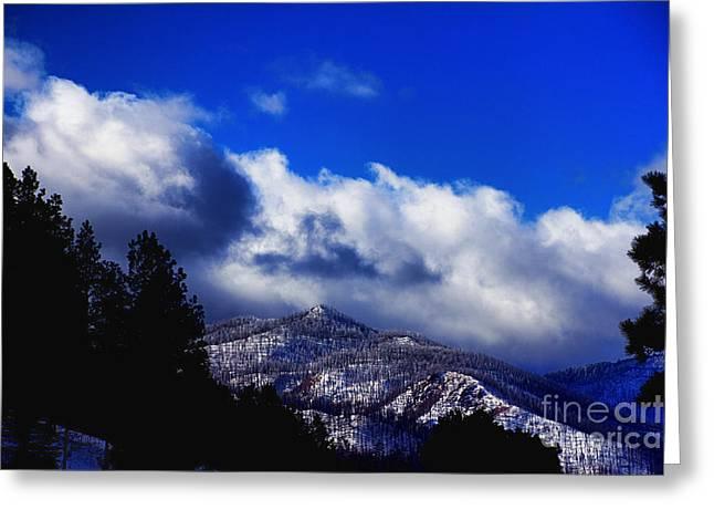 Jemez Mountains Greeting Cards - Valles Caldera V3 Greeting Card by Douglas Barnard
