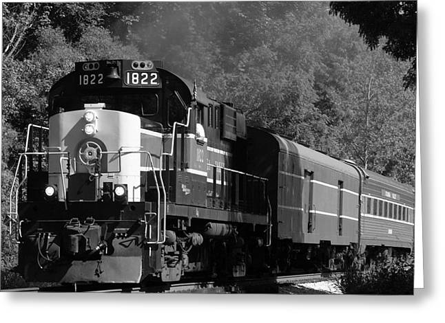 Alco Greeting Cards - Valley Express Greeting Card by Jonathan Hatfield