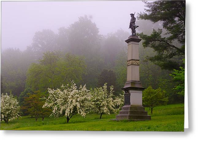 Nebbia Greeting Cards - Valley Forge Greeting Card by Gaetano Chieffo